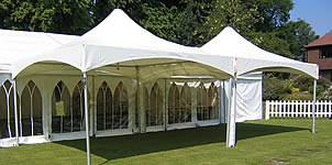 Corporate event marquees for hire across the counties of East Sussex and West Sussex