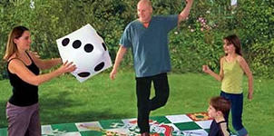 Garden games to hire from David Browne Leisure, Steyning, West Sussex
