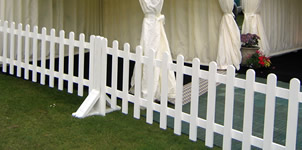 Picket Fencing for hire, West Sussex